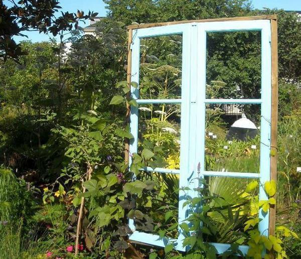 fen tre sur jardin les textes de mon moulin