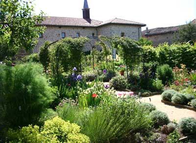Le jardin d\'Usson en Forez | Les textes de mon moulin